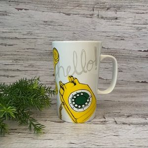 (2 FOR $30) Starbucks • Rotary Telephone Hello Mug
